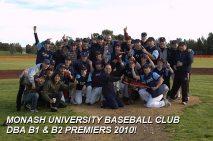 B1 / B2 Premierships 2010