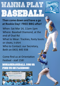 2015 Rookie Day Flyer