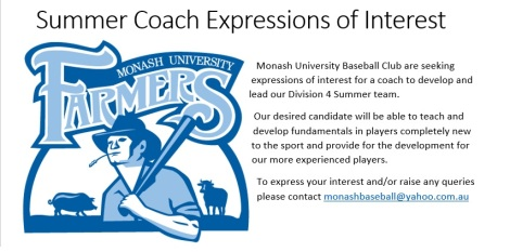 Summer Coach Expressions of Interest